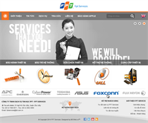Thiết kế website fptservices.com.vn